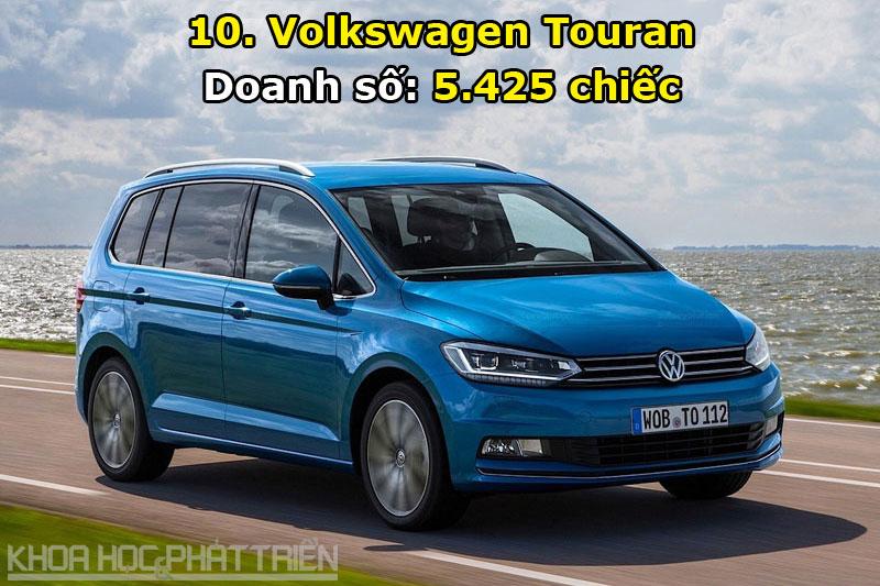 10. Volkswagen Touran.