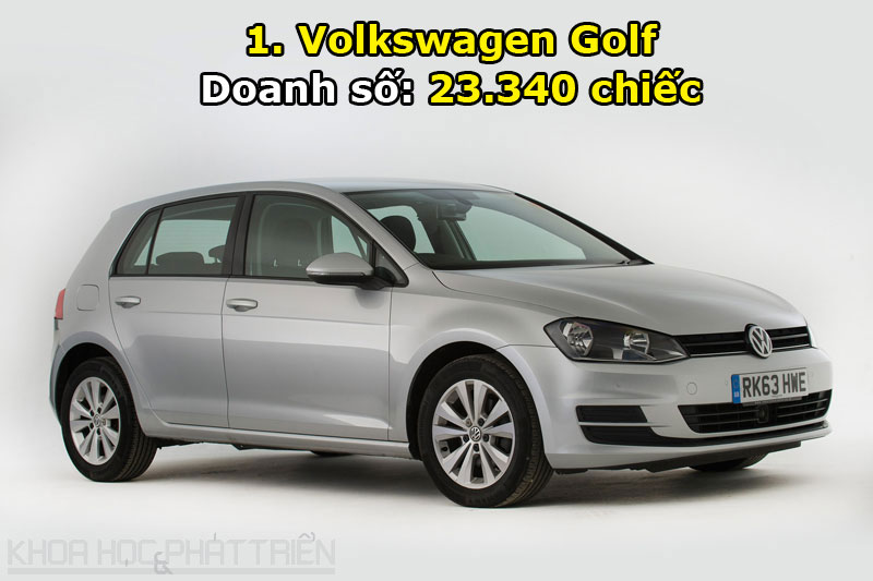 1. Volkswagen Golf.