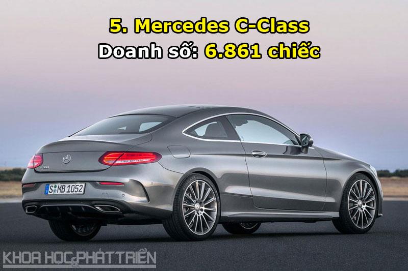 5. Mercedes C-Class.