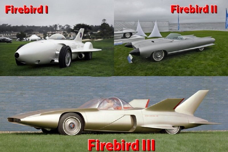 General Motors Firebird I, II và III