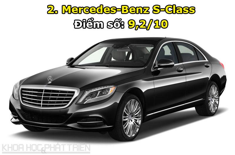 2. Mercedes-Benz S-Class.