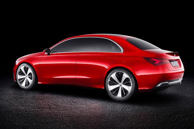 2. Mercedes-Benz Concept A Sedan.