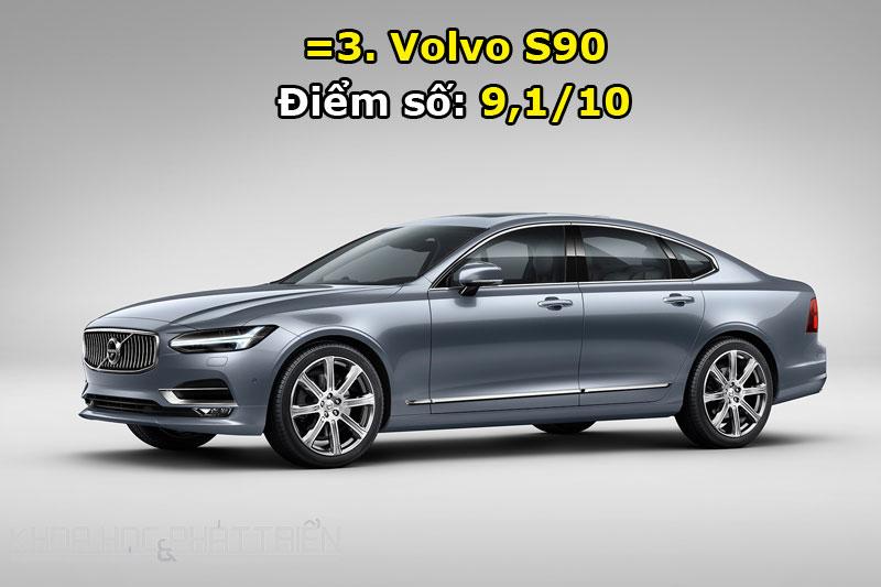 =3. Volvo S90.
