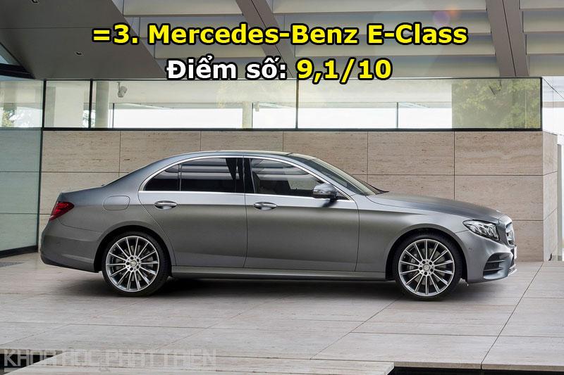 =3. Mercedes-Benz E-Class.