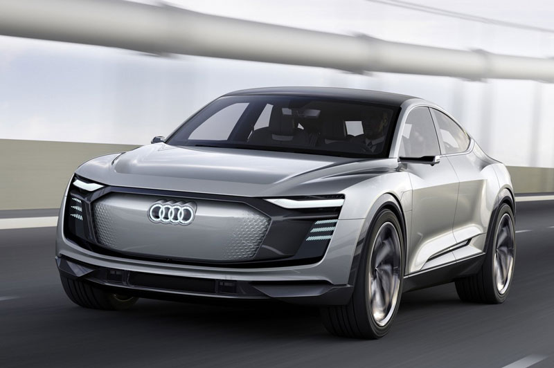 4. Audi E-Tron Sportback Concept.