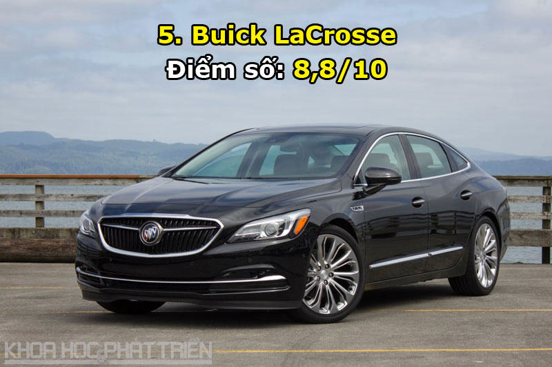 5. Buick LaCrosse.