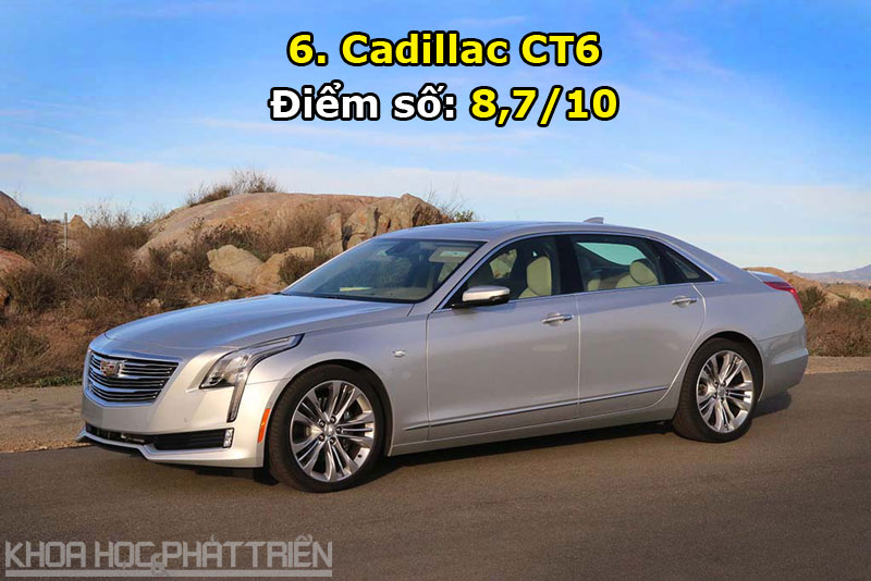 6. Cadillac CT6.