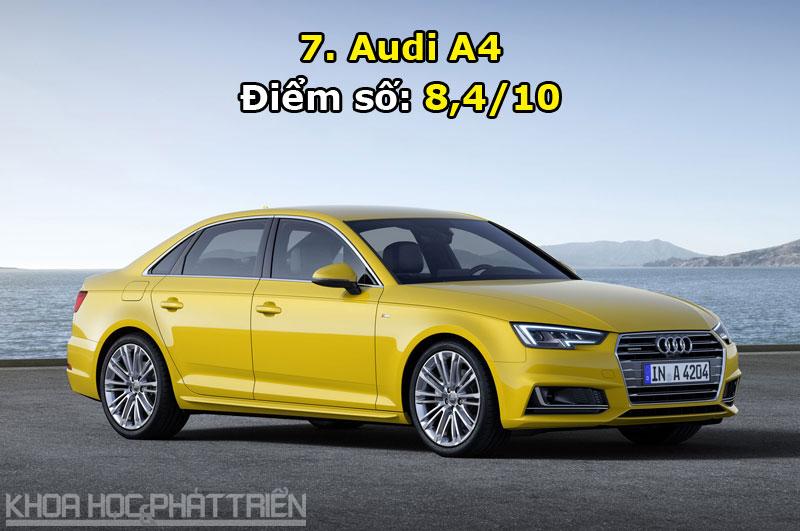 7. Audi A4.