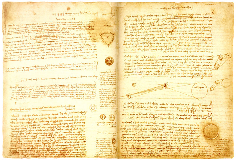 2. Sổ chép tay Leicester của họa sĩ Leonardo da Vinci - giá: 30,8 triệu USD.