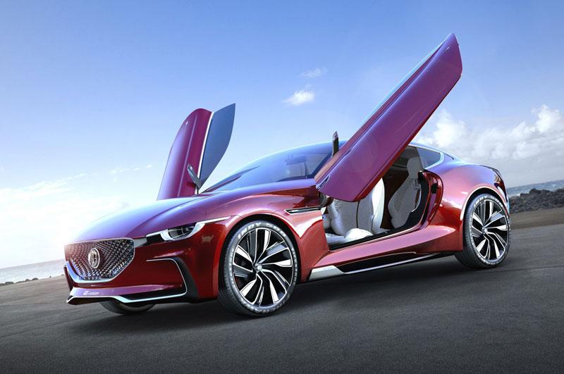 8. MG E-Motion Concept.