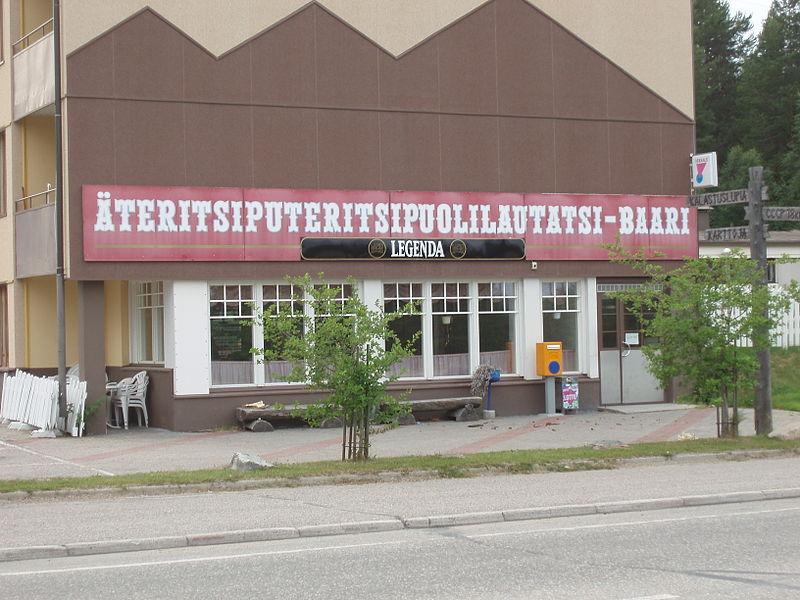 6. Ateritsiputeritsipuolilautatsijanka (35 ký tự). Là đầm lầy nằm ở khu vực Lapland, Phần Lan. Đầm lầy này nổi tiếng là địa điểm dài nhất ở Phần Lan và cũng là địa điểm dài thứ 2 ở châu Âu.