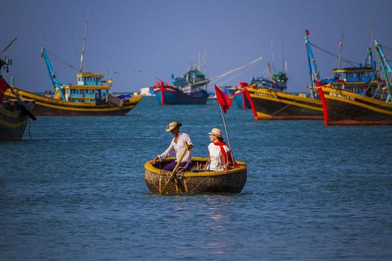 Bình Thuận có đầy đủ các điều kiện để sản xuất ra những sản phẩm nước mắm thơm ngon. Ảnh: Thực phẩm sạch.