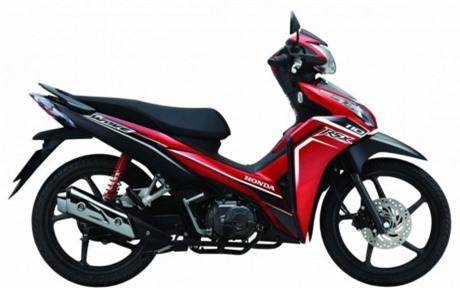 Honda Wave RSX được trang bị động cơ xăng 4 thì, dung tích 110 cc, sản sinh công suất cực đại 6.18 kW và mô men xoắn cực đại 8.65 Nm. Xe có giá 19,5 triệu đồng.(Ảnh: Honda)