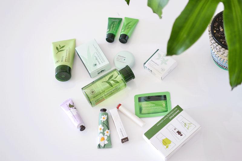 6. Innisfree. Là hãng mỹ phẩm được nhiều người yêu thích. Hãng sản xuất cả mỹ phẩm dành cho nam. Sản phẩm của Innisfree gồm kem dưỡng, mặt nạ, son, kem chống nắng…