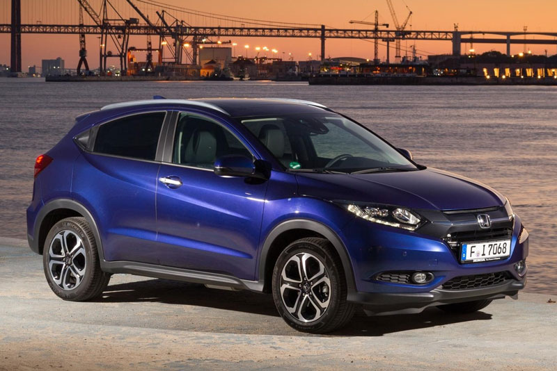 HR-V 2017 được Honda phát triển dựa trên khung sườn của 2 mẫu City và Jazz.