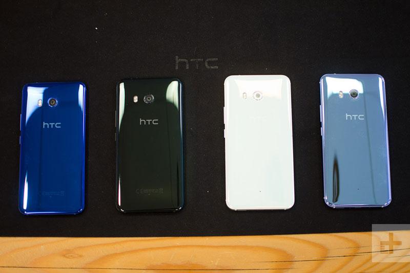 Trên tay HTC U11 vừa trình làng. Hãng điện thoại HTC vừa ra mắt smartphone U11. Phablet này được trang bị chip Qualcomm Snapdragon 835, RAM 4/6 GB, cảm ứng cạnh viền và hỗ trợ chống nước. Dưới đây là những hình ảnh trên tay HTC U11. (CHI TIẾT)