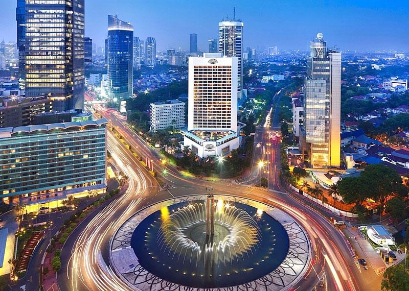 2. Thủ đô Jakarta, Indonesia. Dân số: 26,06 triệu người.