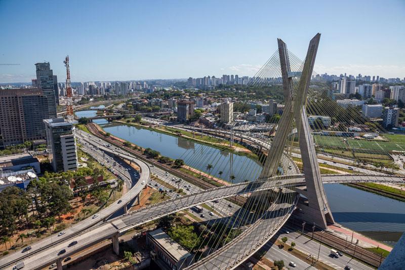 8. Thành phố Sao Paulo, Brazil. Dân số: 20,16 triệu người.