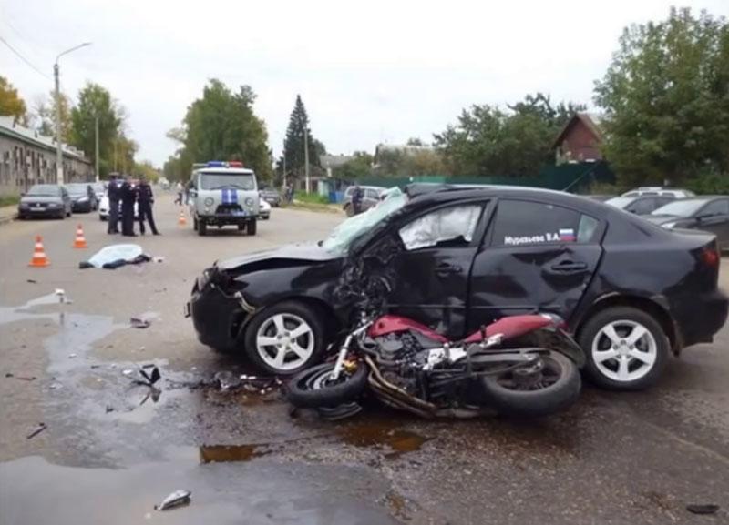 Hiện trường của vụ tai nạn.