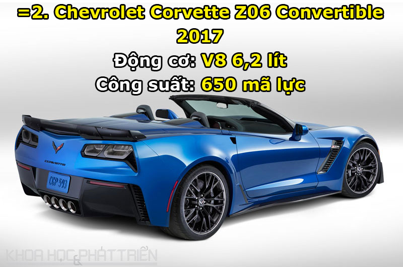 =2. Chevrolet Corvette Z06 Convertible 2017.