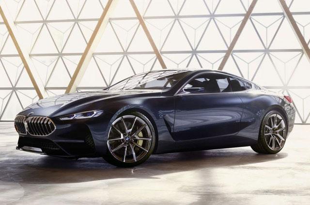 Hình ảnh chính thức đầu tiên của BMW 8-Series. Phiên bản concept của BMW 8-Series sẽ ra mắt tại sự kiện Concorso d'Eleganza Villa d'Este diễn ra vào ngày mai, 26/5. (CHI TIẾT)