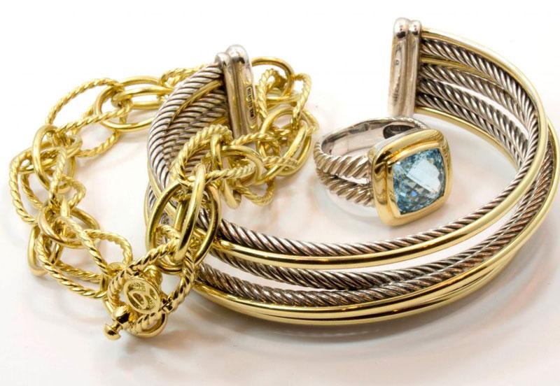 4. David Yurman. Công ty trang sức này được thành lập năm 1980 ở thành phố New York, Mỹ bởi David Yurman.
