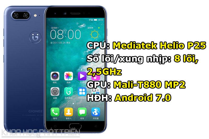 Tuy chạy hệ điều hành Android 7.0 Nougat nhưng Gionee S10 được tùy biến trên giao diện Amigo OS 4.0.