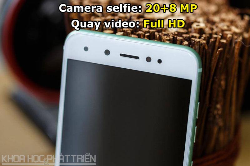 Nhờ được trang bị 2 máy ảnh selfie nên Gionee S10 cho khả năng xóa phông tốt, góc chụp rộng. Ngoài ra, máy còn có nhiều chế độ làm đẹp.