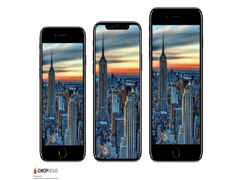 Bộ ba iPhone 7, iPhone 8 và iPhone 7 Plus