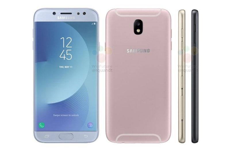Hình ảnh rò rỉ của Samsung Galaxy J5 2017.