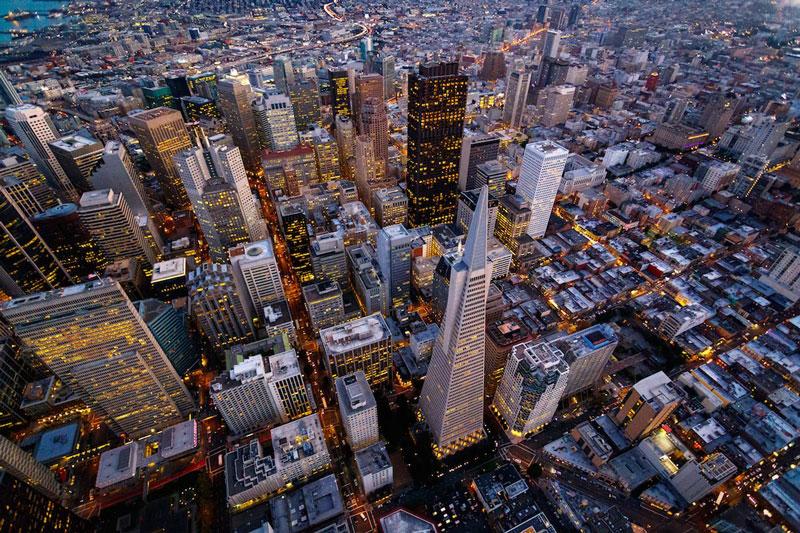 1. Thành phố San Francisco. Là quận-thành phố thống nhất duy nhất của tiểu bang California. Đồng thời, thành phố còn là trung tâm văn hóa và tài chính hàng đầu của Bắc California và vùng vịnh San Francisco. Nó là một trong những thành phố du lịch hàng đầu của Mỹ nói riêng và toàn thế giới nói chung.