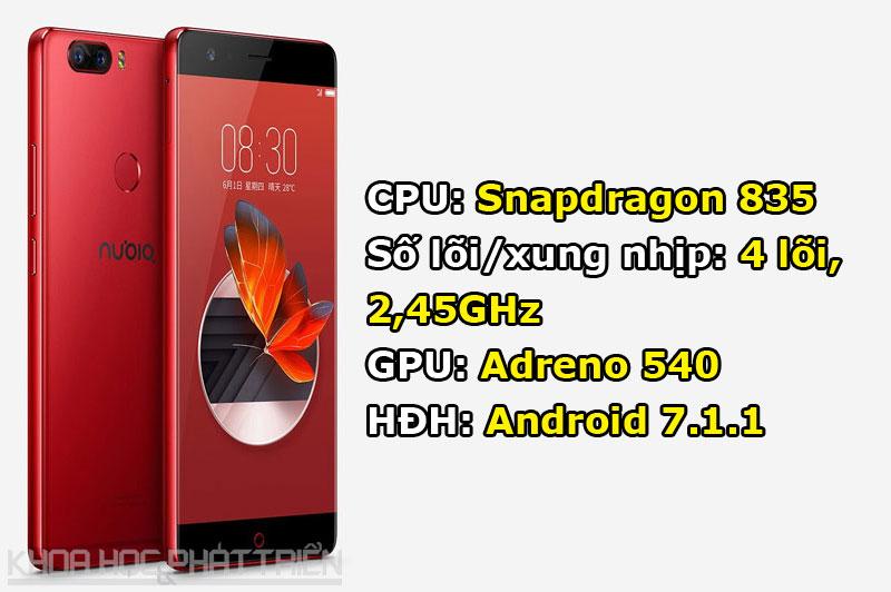 ZTE Nubia Z17 là smartphone sở hữu cấu hình mạnh bậc nhất thế giới hiện nay.