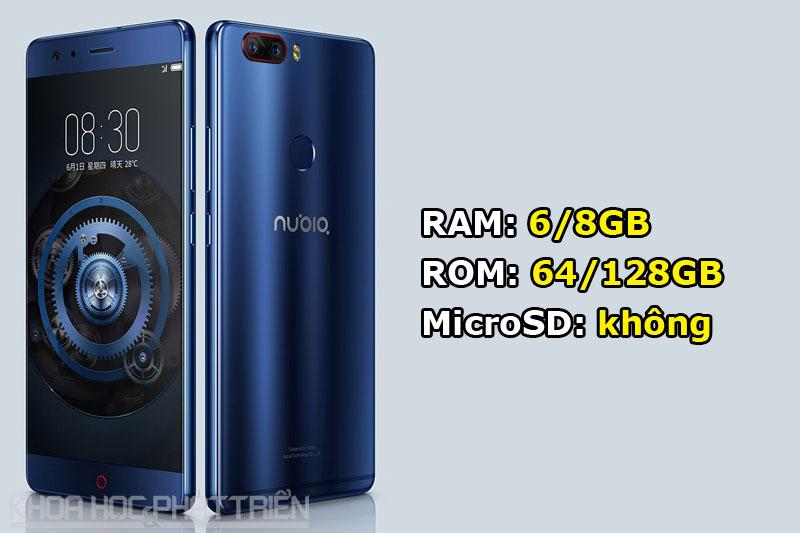 ZTE Nubia Z17 có 5 tuỳ chọn màu sắc gồm đen, đen viền vàng, đỏ, xanh dương và vàng. Máy được lên kệ tại Trung Quốc vào ngày 6/6 tới. Giá bán của bản RAM 6 GB/ROM 64 GB là 2.799 Nhân dân tệ (tương đương 9,24 triệu đồng) cho phiên bản tiêu chuẩn. Bản RAM 6 GB/ROM 128 GB có giá 3.399 Nhân dân tệ (11,22 triệu đồng). Để sở hữu bản RAM 8 GB/ROM 128 GB, khách hàng phải đầu tư 3.999 Nhân dân tệ (13,20 triệu đồng).