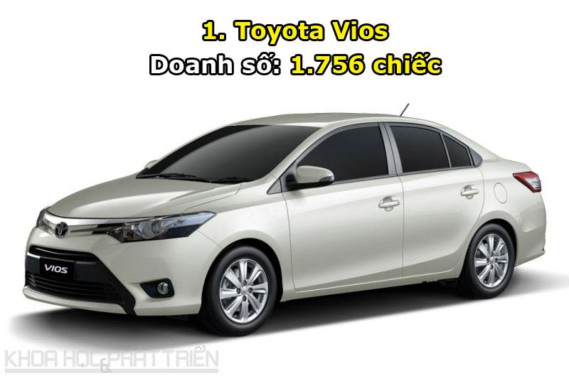 1. Toyota Vios.