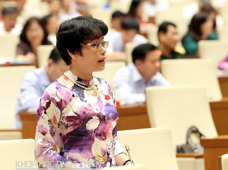 Đại biểu Quốc hội Nguyễn Thị Mai Phương