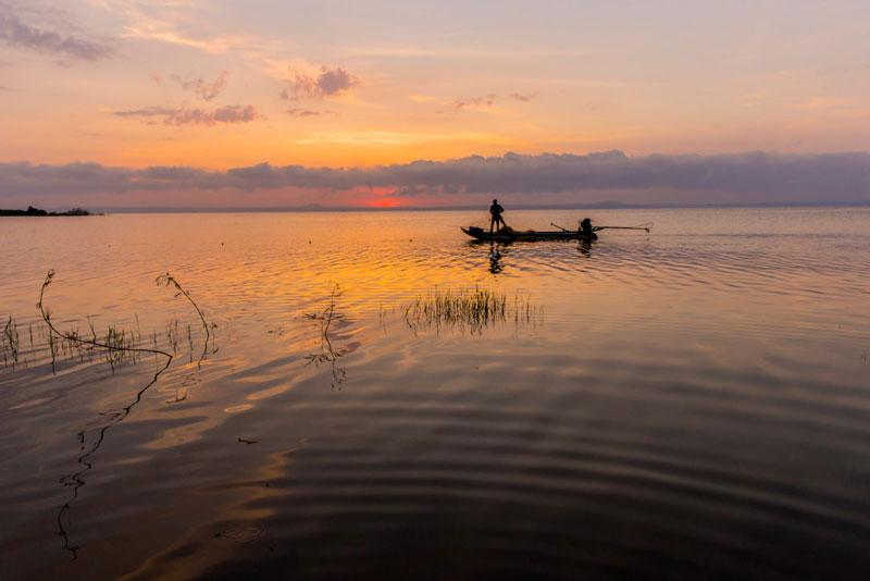 Hồ Trị An được khởi công vào năm 1984 và hoàn thành đầu năm 1987. Ảnh: Nguyễn Hải Vinh.