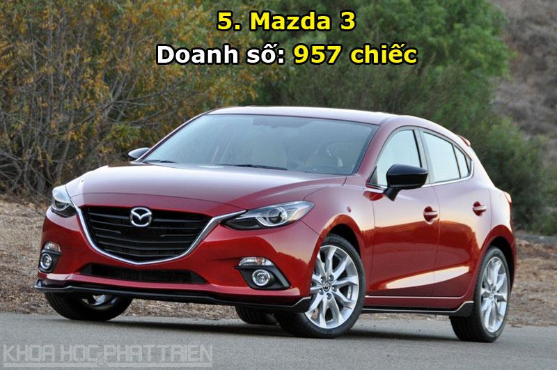 5. Mazda 3.