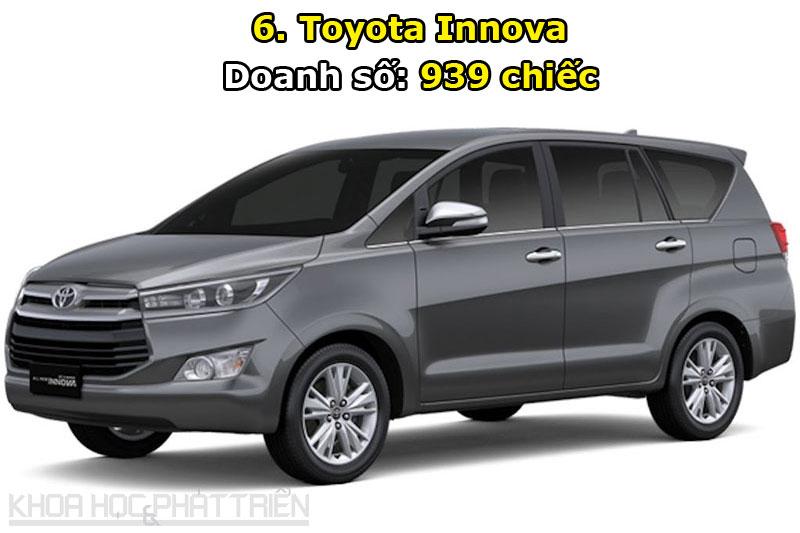 6. Toyota Innova.