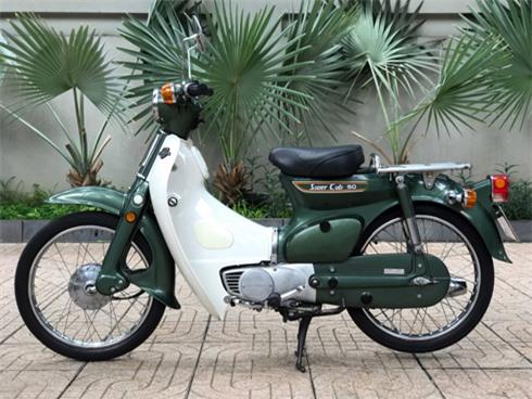 Honda Cub 'cánh én' - kỷ vật 40 năm của người Việt. Honda Super Cub 50 1978 có tên gọi đơn giản Cub