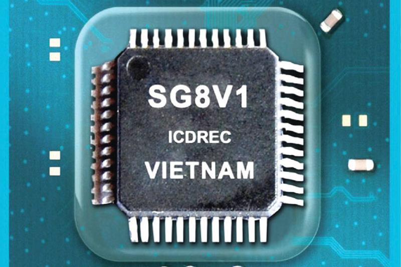 Chip vi điều khiển thương mại đầu tiên của Việt Nam