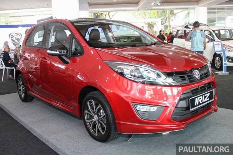 Ôtô Proton Iriz giá 233 triệu khiến người Việt phát thèm. Mẫu xe hatchback nội địa cỡ nhỏ Proton Iriz 2017 đã chính thức ra mắt tại thị trường Malaysia với mức giá chỉ từ 233 triệu đồng. (CHI TIẾT)