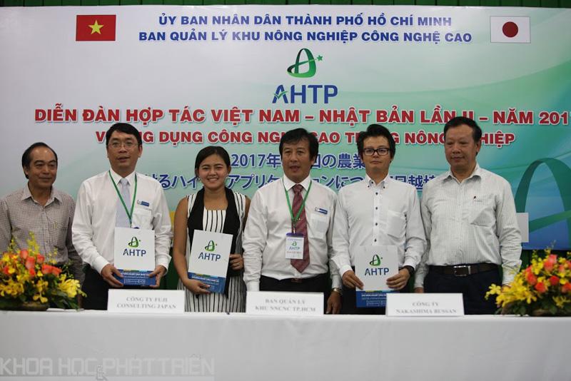 AHTP Ký kết hợp tác