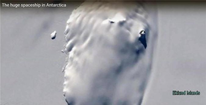 Phát hiện tàu ngoài hành tinh đâm xuống Nam Cực? - 2