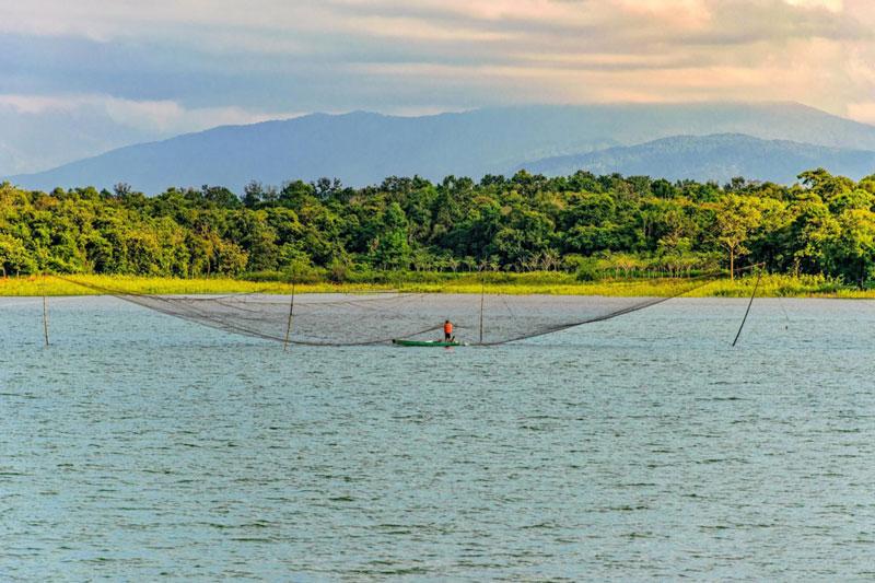 Hồ Ea Kao được xây dựng ngay những ngày đầu sau khi Việt Nam thống nhất. Ảnh: Cao Phương.