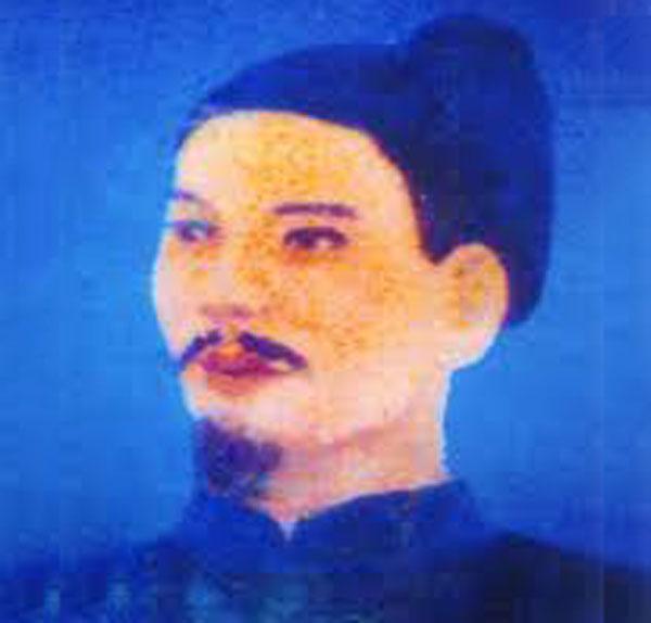Chân dung Đào Duy Từ. Ảnh: Thư viện Lịch sử.