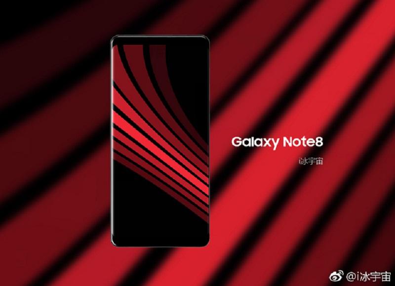 Samsung Galaxy Note 8 khá tương đồng về thiết kế với Galaxy S8/S8 Plus