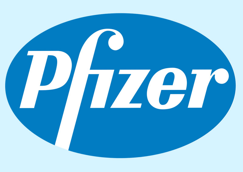 2. Pfizer. Đây là công ty dược phẩm đa quốc gia của Mỹ có trụ sở tại thành phố New York. Đây là một trong những công ty dược phẩm lớn nhất thế giới về doanh thu. Pfizer đã được thành lập bởi hai người anh em họ Charles Pfizer và Charles F. Erhart vào năm 1849 như là nhà sản xuất các hóa chất tinh chế. Công ty phát triển và sản xuất các loại thuốc và vắc-xin cho hàng loạt các lĩnh vực của ngành y tế, bao gồm cả miễn dịch, ung thư, tim mạch, bệnh tiểu đường-nội tiết và thần kinh.