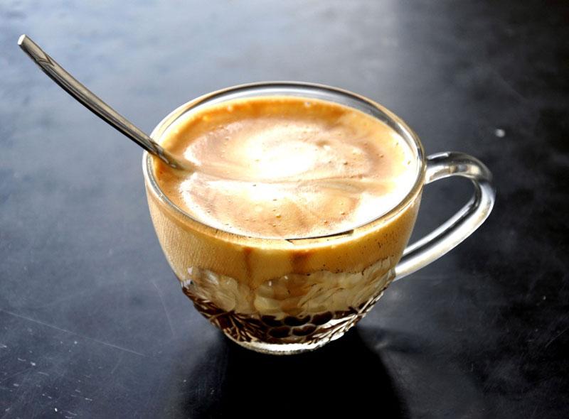 Cà phê trứng. Ảnh minh họa.