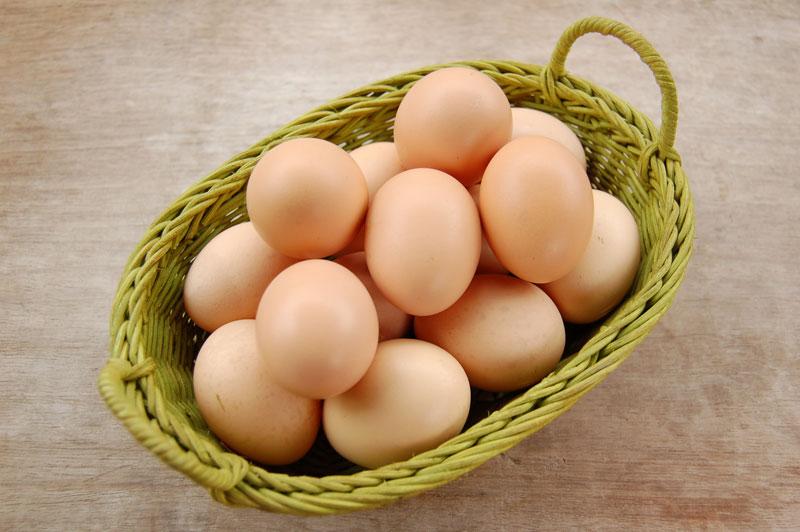 Trứng gà.