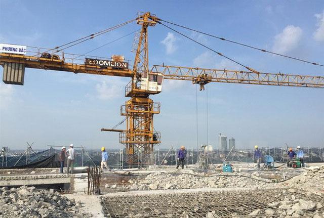 Mỗi ngày Hà Nội thải khoảng 1.750 tấn phế thải xây dựng. (Nguồn: Mạnh Khánh/TTXVN)
